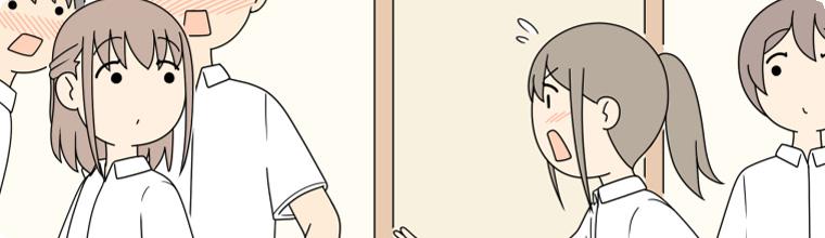オリジナル 「ちょっとスカート!スカート!」@pixiv/じゅうきゅう
