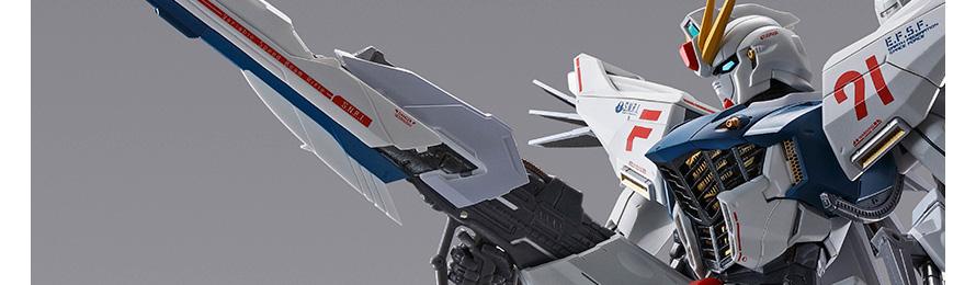 METAL BUILD 機動戦士ガンダムF91 ガンダムF91 CHRONICLE WHITE Ver. 約170mm ABS&PVC&ダイキャスト製 塗装済み可動フィギュア@Amazon